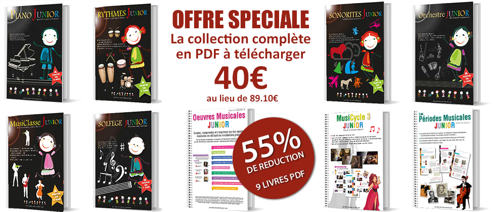 Collection Eveil Musical Enfants